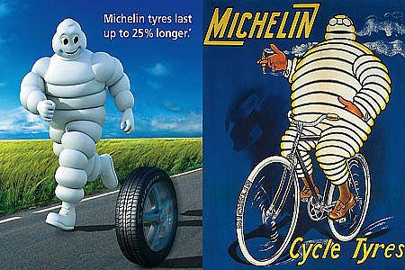 Ludzik Michelin czyli najlepsze logo w historii