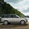 Range Rover na cichych oponach Dunlop SP QuattroMaxx