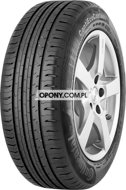 Testy Opon Letnich Continental Contiecocontact 5 W Oponycompl