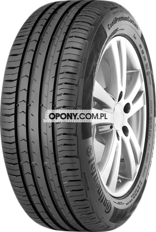 Testy Opon Letnich Continental Contipremiumcontact 5 W Oponycompl